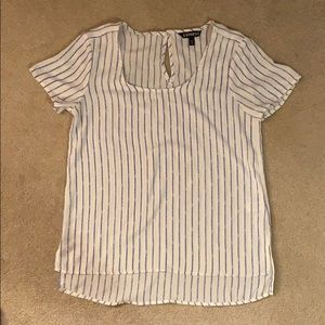 Express striped dress shirt tshirt
